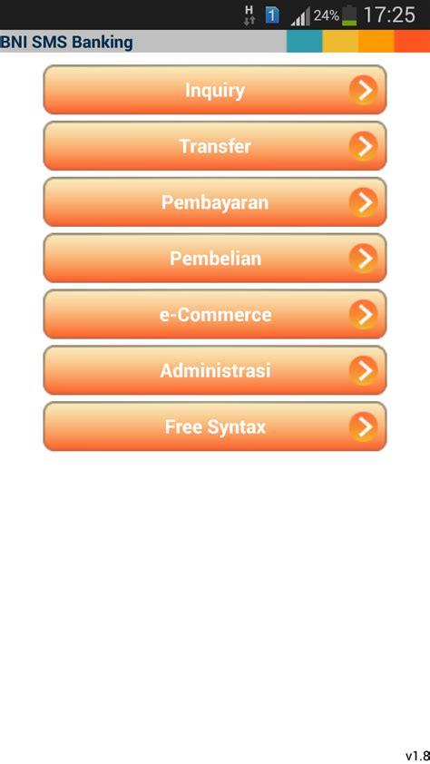 format sms banking bni bayar tiket kereta noni halimi cara cek saldo bni sms banking