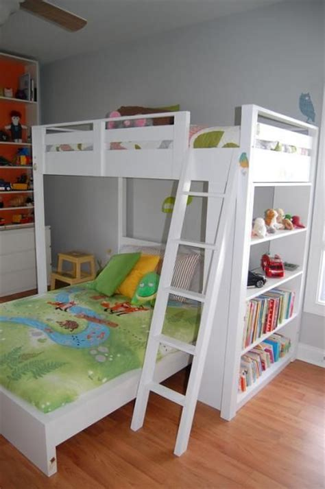 Do It Yourself Bunk Bed Plans White Simple Bunk Bed Woodworking Projects Plans