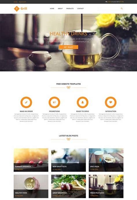 html5 product template 80 best free responsive html5 templates techclient
