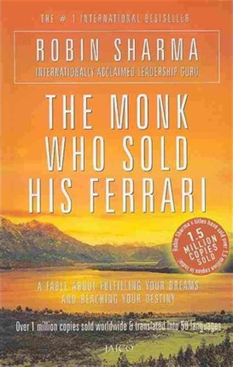 the monk who sold his author the monk who sold his robin s sharma