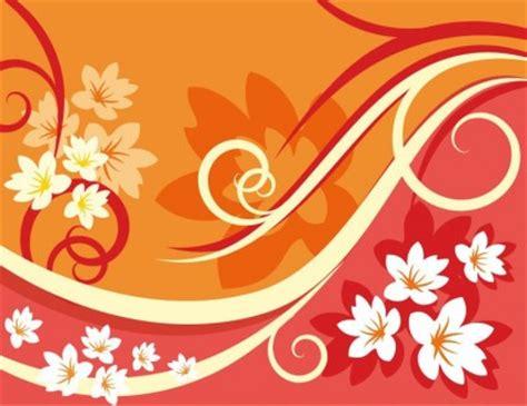 bunga latar belakang elemen desain vektor ilustrasi