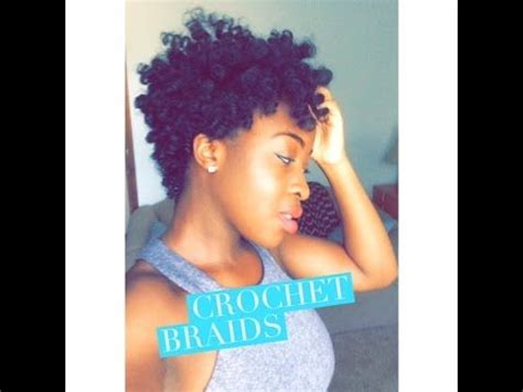 braids on tapered hair tapered crochet braids using curlkalon hair collection