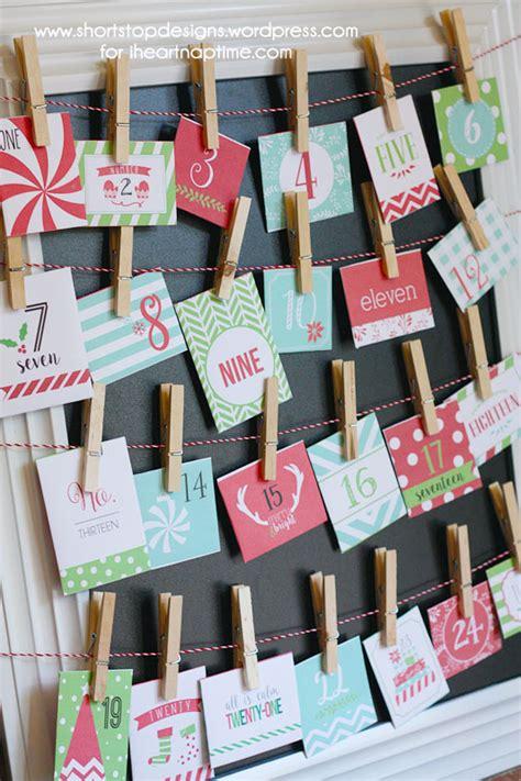Do You Capitalize Advent Calendar Advent Calendar With Free Printables I