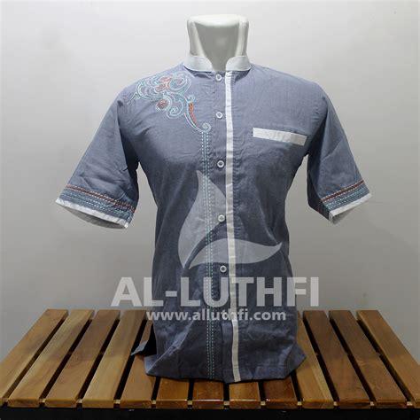 Baju Koko Al Luthfi Bm Al 26 baju koko al luthfi tangan pendek al 010 al luthfi