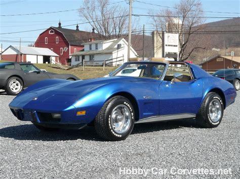Blue For Sale by 1976 Bright Blue Corvette 4spd For Sale