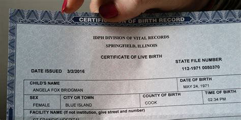 What Documents Do I Need To Get A Birth Certificate