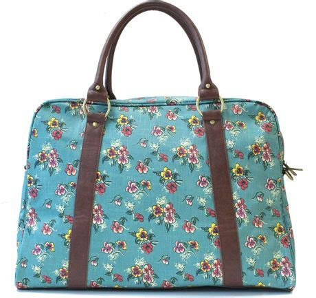 Ollie Nic Multi Coloured Duffel Bag by Ollie Nic Pansy Holdall Bag In Blue Multi Coloured Lyst