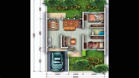 gambar denah rumah minimalis type  model  lantai   lantai youtube