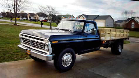 how do cars engines work 2000 ford f350 navigation system bangshift com work truck greatness this 1973 ford f350 is the parts hauler dream bangshift com