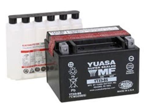 Suzuki Bandit 600 Battery Yuasa Battery Suzuki Gsxr 600 Bandit 600 Ebay