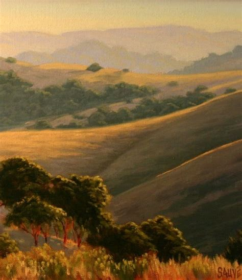 northern california landscape painting original