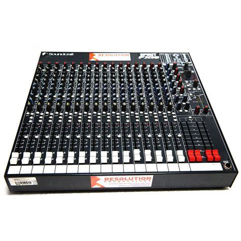 Mixer Soundcraft Fx 16 soundcraft fx16 mixer