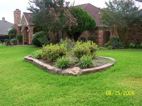 stone flower bed border stone border at flower bed and planting bed dallas by