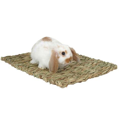 Grass Mats For Rabbits woven edible grass mat