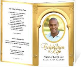 Obituary Program Template by 218 Best Images About Creative Memorials With Funeral