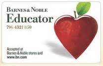 barnes and noble educator discount barnes and noble educator discount and rewards program