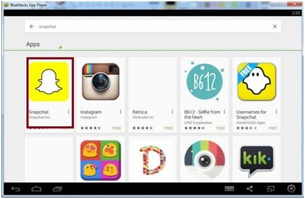 bluestacks snapchat snapchat login online for android smartphone and pc computer