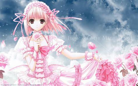 wallpaper anime princess pink princess anime girls wallpaper
