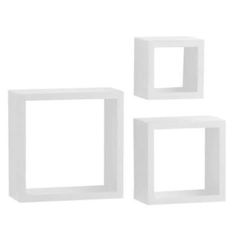 Decorative White Shelf by Knape Vogt 4 In X 9 In Floating White Shadow Box Decorative Shelf Kit 3 240 Wt The