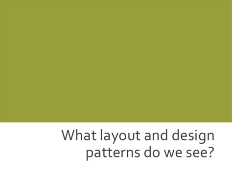 what patterns or trends do you see webinar web design trends