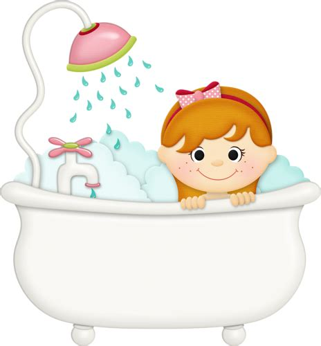 clip art bathtub jss squeakyclean girl tub 2 png bath time pinterest