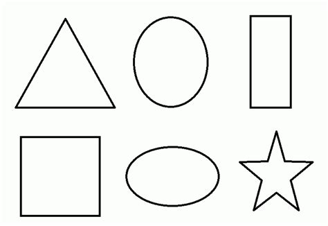 coloring pages numbers and shapes coloriage formes 224 imprimer sur coloriages info