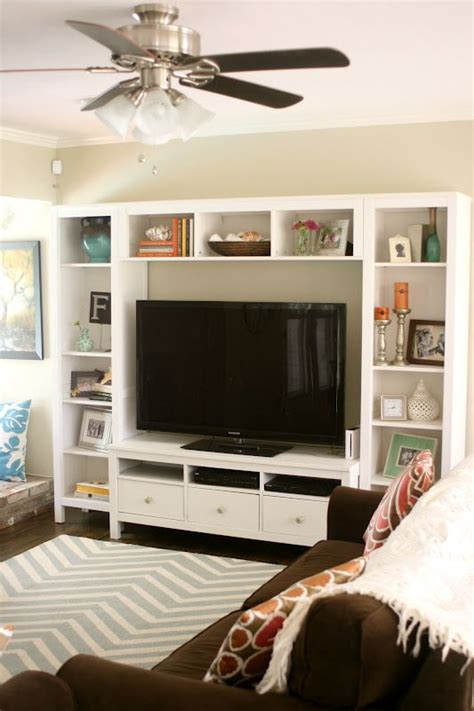 Tv Area Ideas Best 25 Shelves Around Tv Ideas On