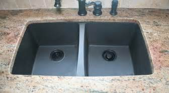 pros and cons of purchasing a black granite composite sink