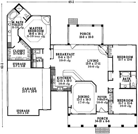 lot 13 main level plan kansas home sites country style house plan 3 beds 2 baths 1979 sq ft plan