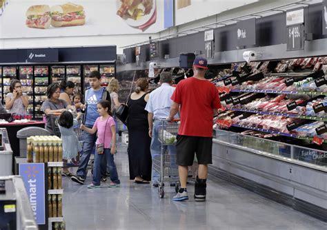 houston chronicle star section americans are buying more food at walmart san antonio