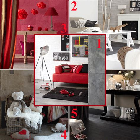 5 contemporary interior trends themes and color schemes light gray white and pink red colors 5 color schemes