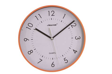 minimalist wall clock justnile minimalist round 9 inch sweeping movement wall