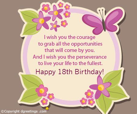 Happy 18th Birthday Wishes Quotes Gallery Happy 18th Birthday Wishes To My Daughter