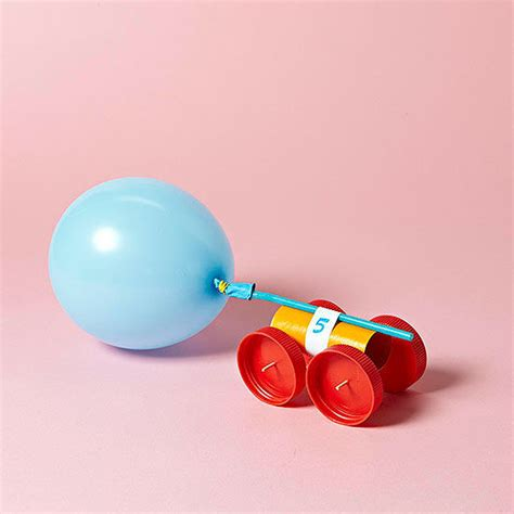 rubber sts arts and crafts balloon car craft rubber bands craft and sport craft