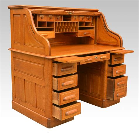 antique roll top desk for sale antiques the uk s largest antiques website