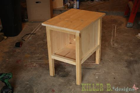 side table plans ana white quot tidy up quot end table diy projects