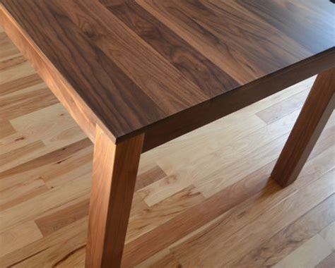walnut dining table plans custom made solid walnut dining table by fabitecture