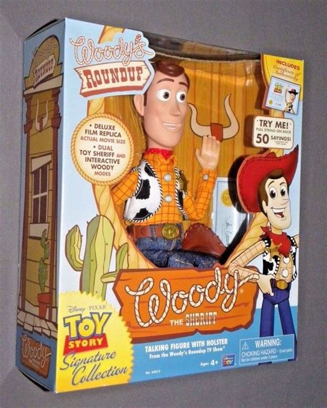 The Roundup 2 by Story Woody S Roundup Talking Sheriff Woody Doll Ebay