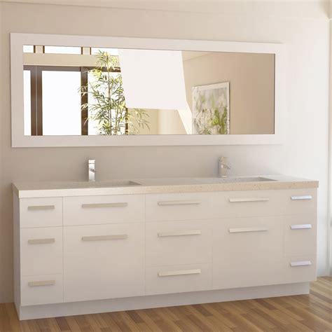 Rissa Set rissa 84 quot sink vanity set zuri furniture