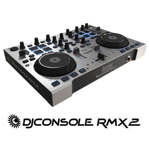 console virtuale dj hercules rmx2 dj console with dj mcquade