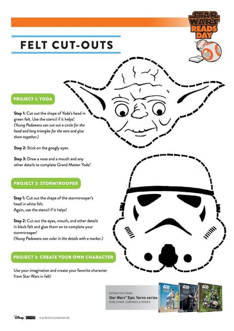 cut out character template printable wars activity sheets wars characters