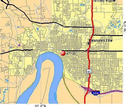 zip code map evansville in 47708 zip code evansville indiana profile homes