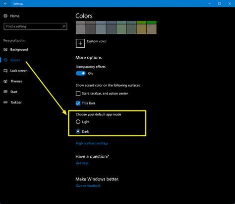 app to change background color change app background color windows 10 forums