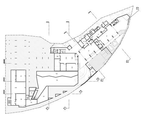 foundry gallery floor plan kc grande resort spa hillside foundry of space archdaily