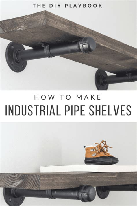 how to build diy industrial galvanized pipe shelves the