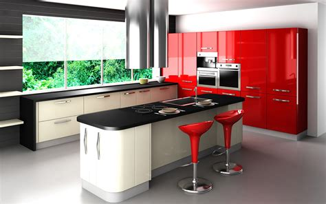Kitchen Design Red by Contemporary Kitchen Designs Red Kitchen Furniture Modern