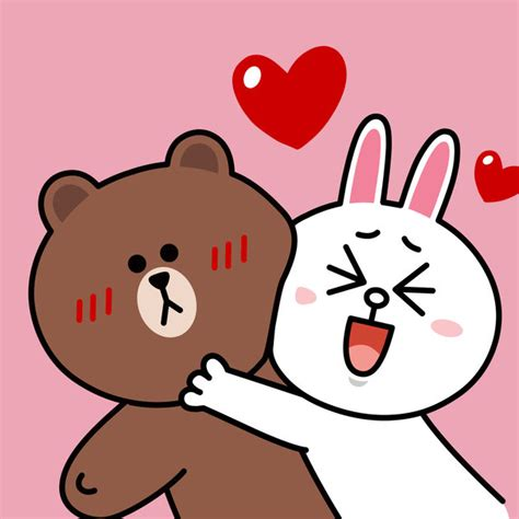 Line Friends Brown brown cony sweet line friends on the app store