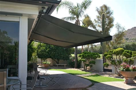 Patio Awnings Retractable by Retractable Patio Awnings