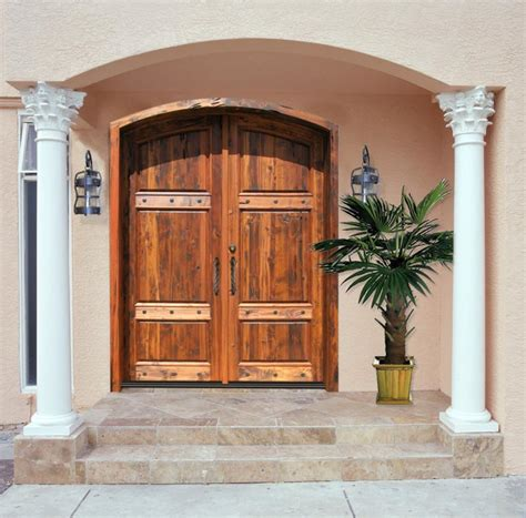front entry rustic wood exterior doors recycling wood exterior doors
