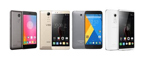 Lenovo Nougat Lenovo Smartphones Android Nougat Update Gadgetsparade